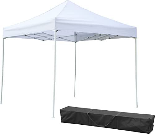 Trademark Innovations Lightweight and Portable Pyramid Roofed Canopy Tent