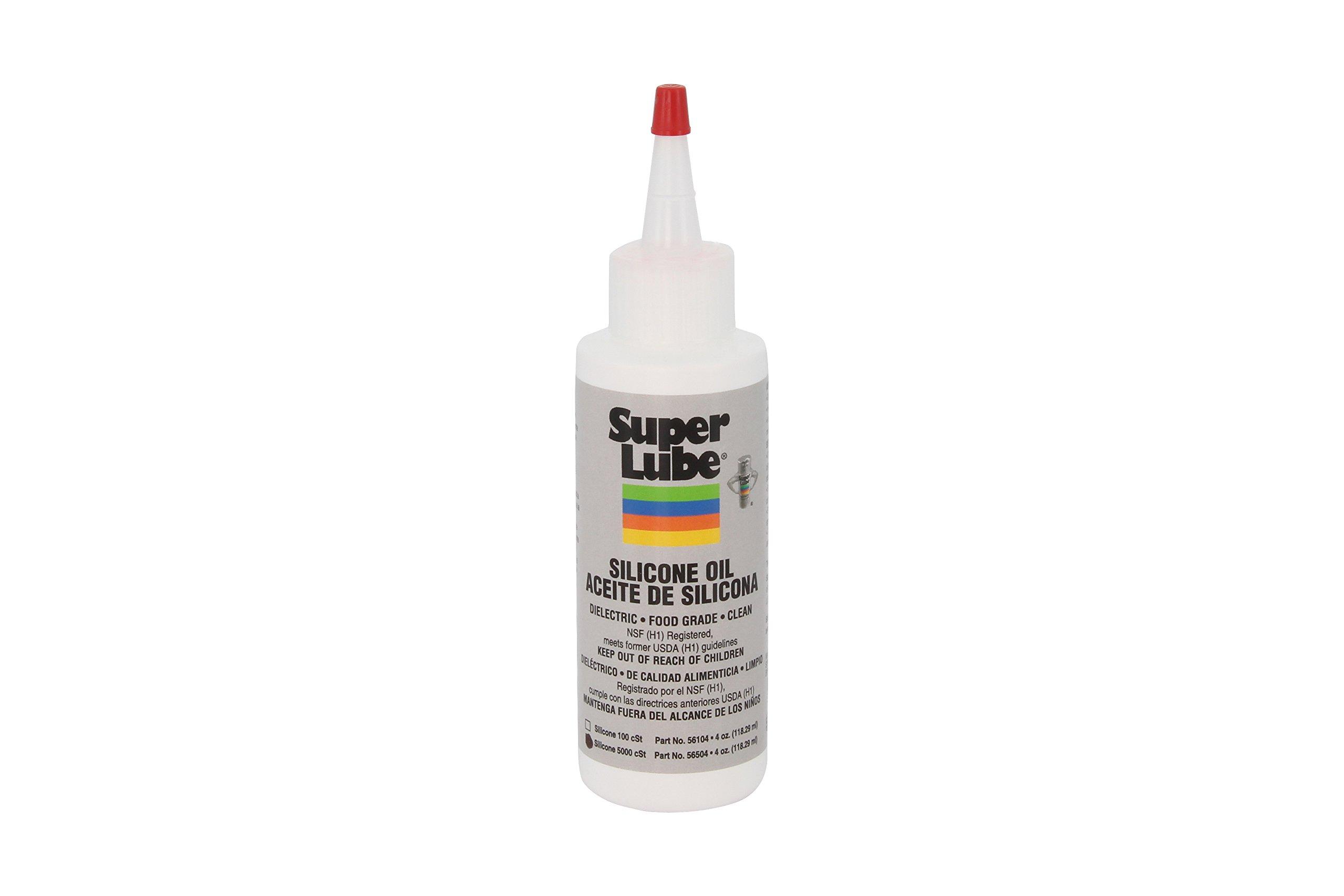 Super Lube 56504 Silicone Oil 5000 CST, Clear