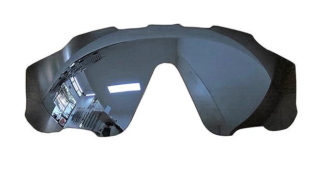 MZM Lentes Polarizadas de Recambio para Oakley Jawbreaker (Black Iridium)