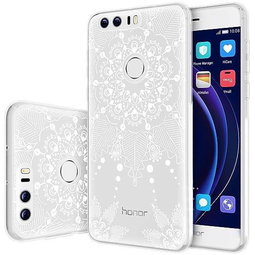 36 opinioni per Custodia Huawei Honor 8 , ivencase Cover Silicone Trasparente TPU Flessibile