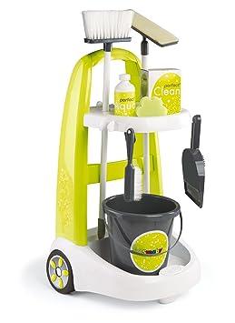 Smoby   330300   Clean Service Chariot De Ménage   + 8 Accessoires Inclus