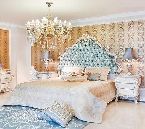 Casa Padrino Luxus Barock Schlafzimmer Set Grun Creme Gold 1 Doppelbett Mit Kopfteil 2 Nachttische Barock Schlafzimmer Mobel Edel Prunkvoll Amazon De Kuche Haushalt
