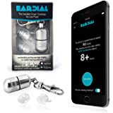 EarDial Ear Plugs - Invisible Smart Earplugs for Live Music - Comfortable and Discreet High-Fidelity Reusable Hearing Protection with App. Perfect for Concert, Nightclub, Festival, Musician, DJ, etc.