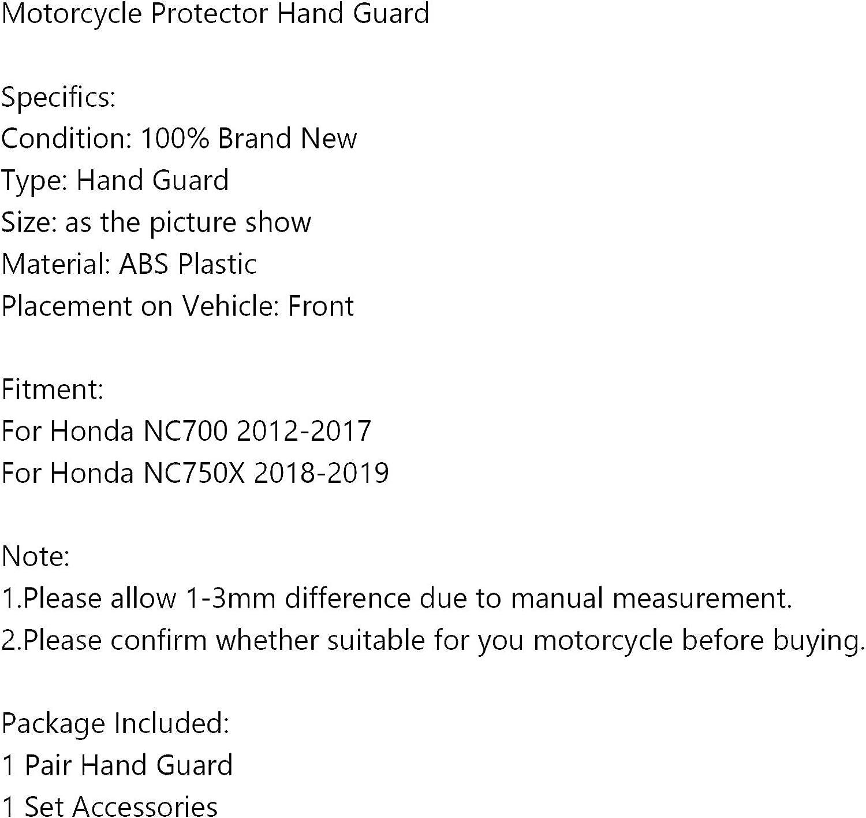 per H-O-N-D-A NC700 2012-2017 NC750X 2018-2019 Protezioni per le mani della moto Artudatech