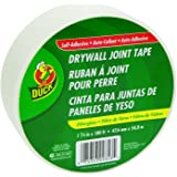 "Duck 282083 1.88"" by 180' Single Roll Self-Adhesive Fiberglass Drywall Joint Tape"