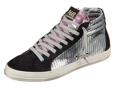 """Zapatillas """"A7SKATE"""" de mujer - P448 - Color plateado - Tiempo libre -"""
