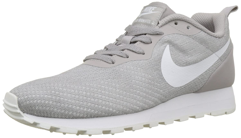 Nike Wmns MD Runner 2 Eng Mesh, Zapatillas para Mujer 41 EU|Gris (Atmosphere Grey/White 004)
