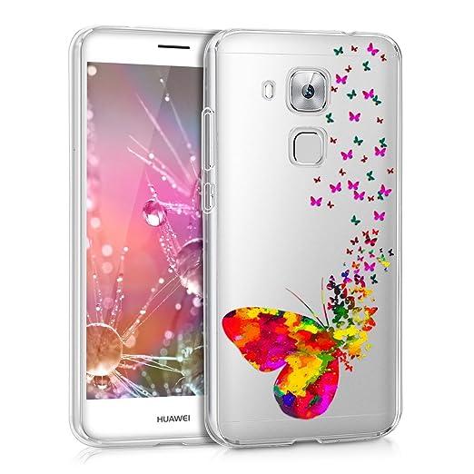 5 opinioni per kwmobile Cover per Huawei Nova Plus- Custodia in silicone TPU- Back case