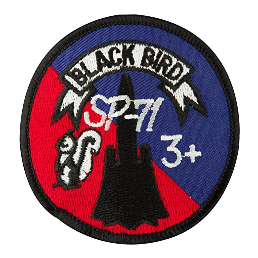 Air Force Embroidered Military Patch - Black Bird OSFM at