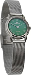 Christian Geen Analog Watch For Women - Stainless Steel, Silver - 3034Lls-Gn