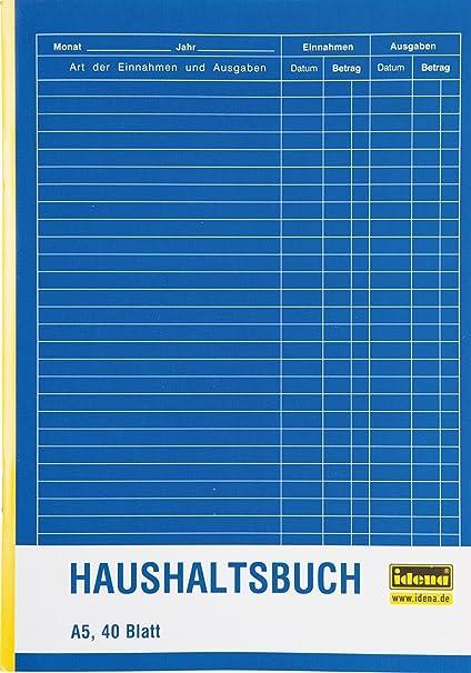 40 Blatt Herlitz Haushaltsbuch A5 3 St/ück