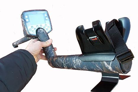 DetectorCovers MINELAB E-TRAC Detector DE Metal Cubierta de 3 Piezas EN Tela DE Camuflaje