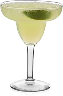 product image for Libbey Margarita Party Glasses, Set of 12, 9 oz, Clear