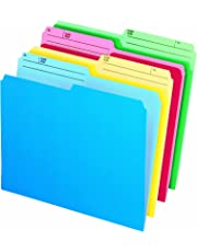 Cutless Watershed File Folders, Letter, Assorted - 48443C
