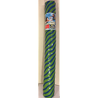 Fluid Aquatics Deluxe Pool Noodle New 2 Tone Color Blue and Green: Toys & Games