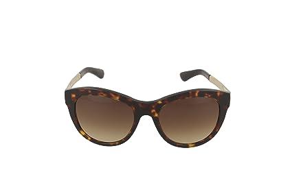 Dolce & Gabbana Damen Sonnenbrille DG4243, Braun (Havana 502/13), One size (Herstellergröße: 53)