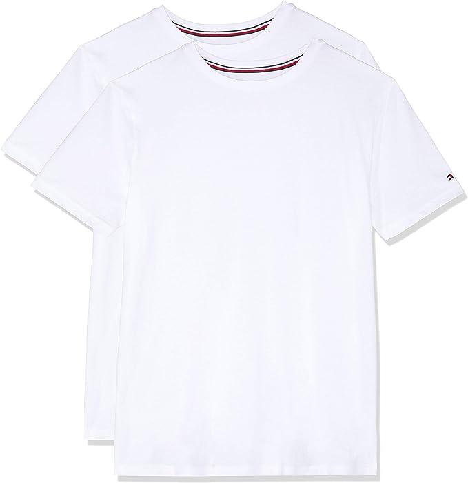 Tommy Hilfiger de los Hombres Pack de 2 Camisetas de algodón ...