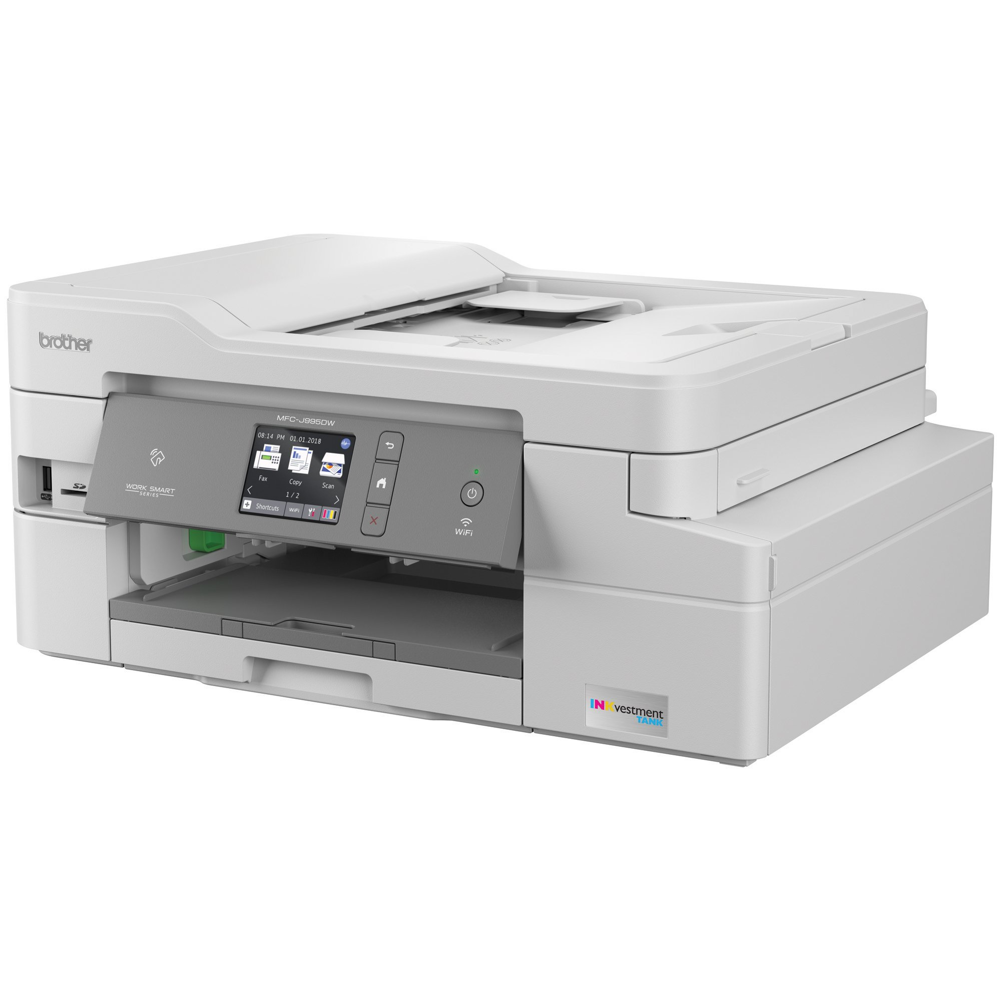 Brother INKvestmentTank Inkjet Printer, MFC-J995DW XL, Extended Print, Color All-in-One Printer, Mobile Printing Duplex Printing, up to 2-Years Ink in-Box by Brother (Image #2)
