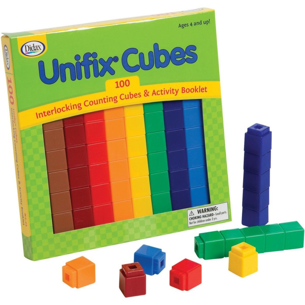 amazon com didax unifix cubes 100 count toys games rh amazon com