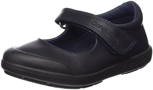 Conguitos Colegiales Niña Piel Lavable - Zapatos para niñas: Amazon.es: Zapatos y complementos