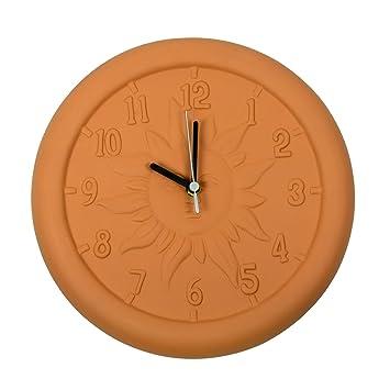 Poolmaster 12u0026quot; Terra Cotta Clock