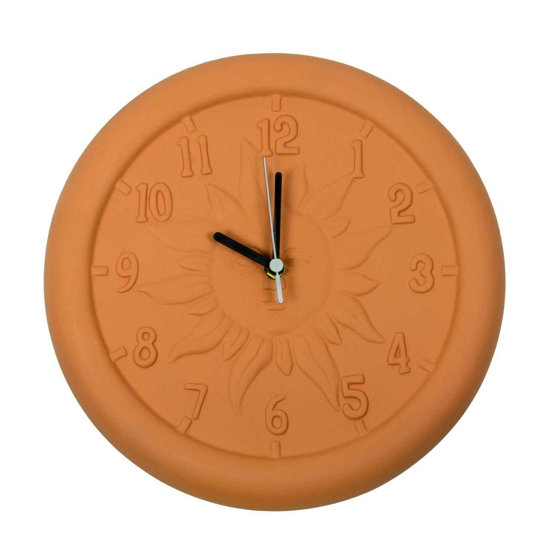 Poolmaster 12'' Terra Cotta Clock