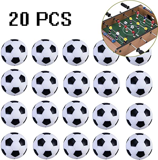ARay Mini Pelotas de Fútbol 20 Piezas, Bolas del Balompié Plástico ...
