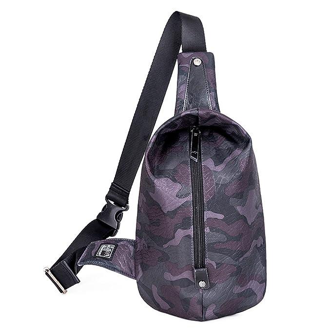 BULAGE Paquete Simple La Moda Masculino Bolsa Casual Cartera Mochila Bolsa De Pecho Oxford Gran Capacidad