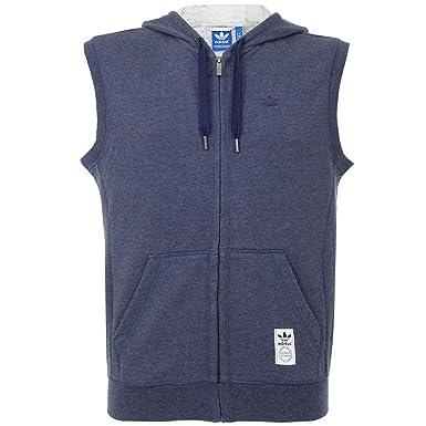adidas originals sleeveless hoodie