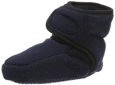 Playshoes Baby Fleeceschuhe - Zapatos Para Gatear de material sintético Bebé - unisex, color rosa, talla 20/21