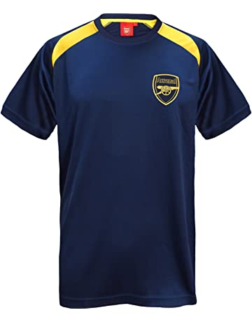 4b3c05c6 Arsenal FC Official Football Gift Mens Poly Training Kit T-Shirt