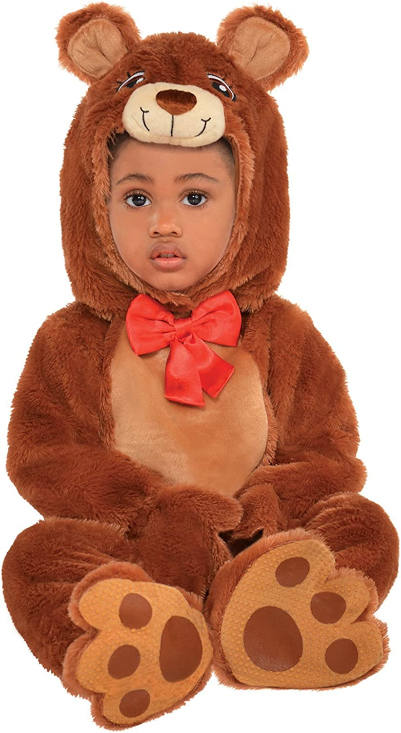 Disfraz de Animal bebé Unisex Oso Teddy Teddy Brown Carnaval ...