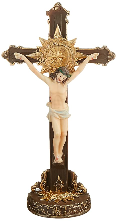 Turtle King Corp Jesus Crucifix Statue Figure Religious Christian