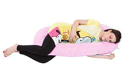0da3bb397b248 Buy MomToBe C Shape Maternity Pillow with 100% Cotton Cover and ...