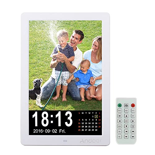 Andoer 12 inch Digital Photo Frame High Resolution 1280: Amazon.co ...