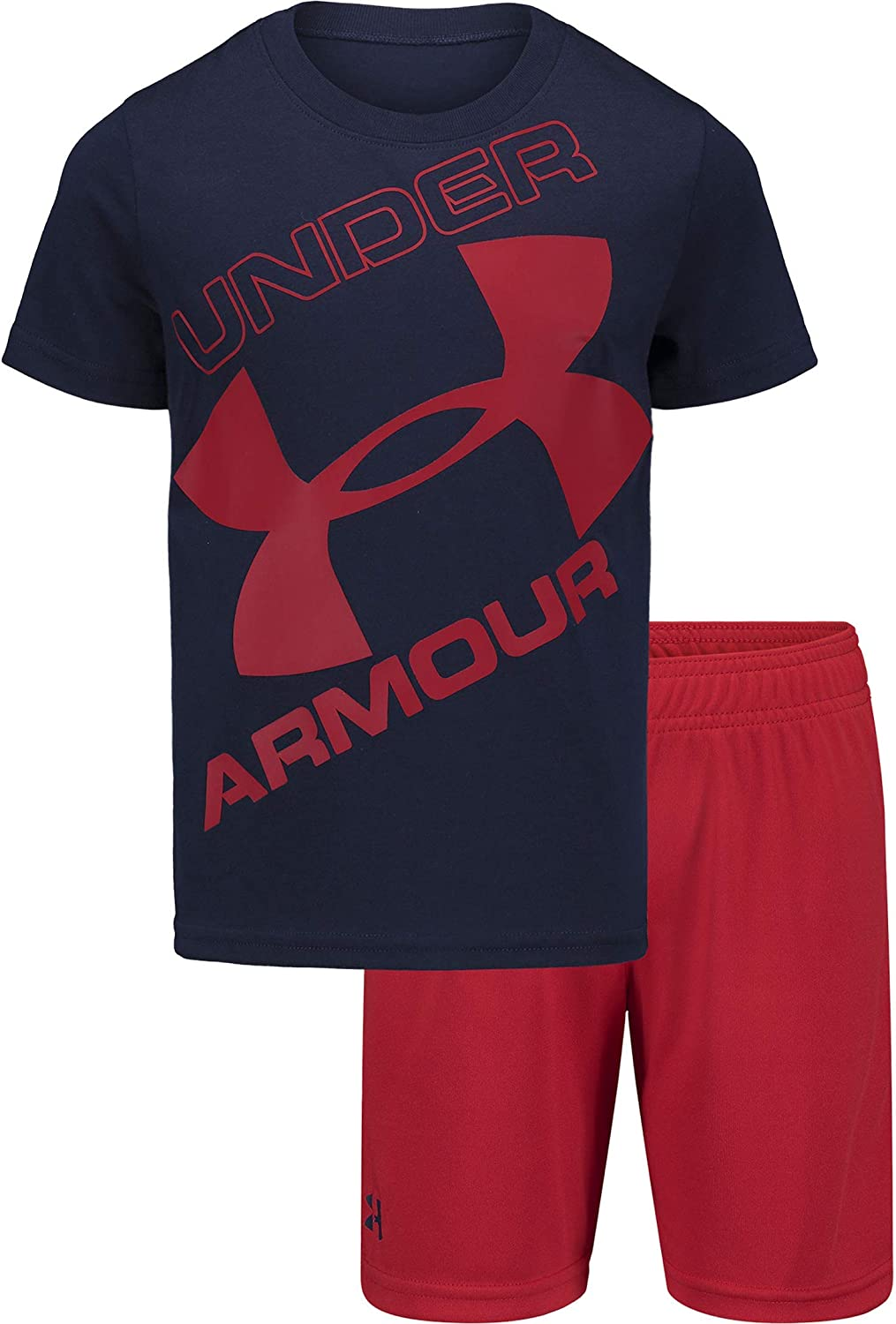 New Toddler Boys Under Armour Graphite T-shirt Size 3T