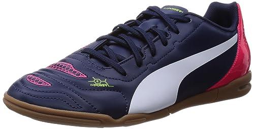 Puma evoPOWER 4.2 IT - Zapatillas deportivas para interior de material sintético hombre, color azul, talla 39
