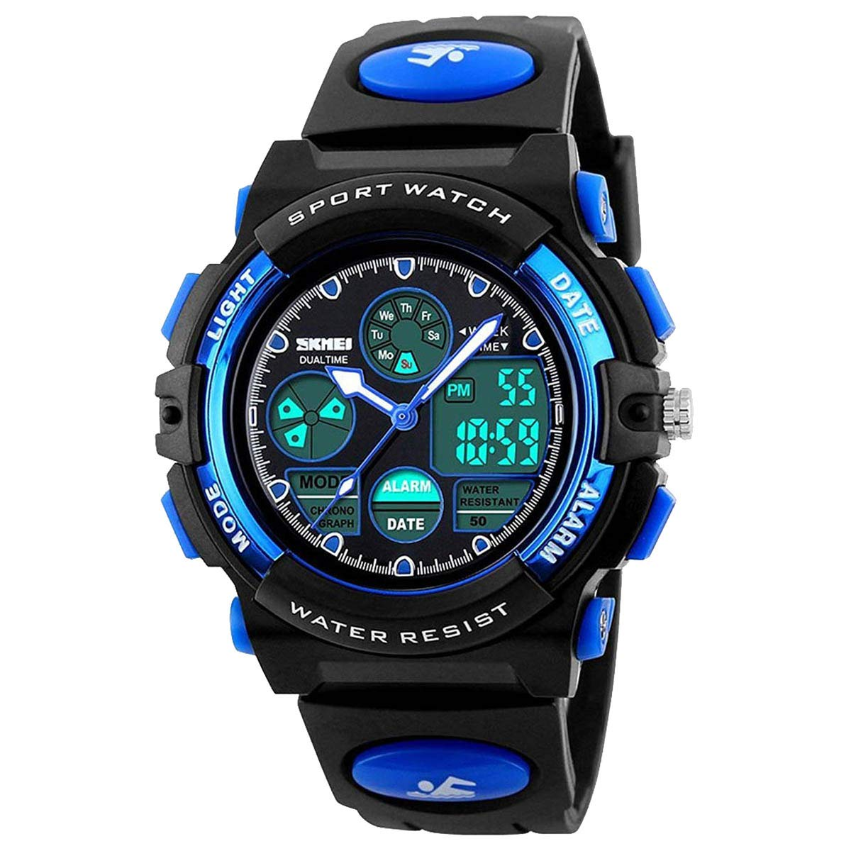 Kids Watches for Boys Girls Digital Waterproof Sports with Alarm Stopwatch LED Electronic Quartz Wrist watch Student Youth teens children1163
