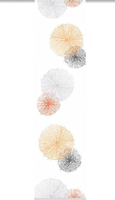 3, orange, 88999 hochwertigem Zubeh/ör Set-Gr/ö/ßen inkl SCOPPIO Home Fashion Set-Angebot Schiebegardinen Rawlins