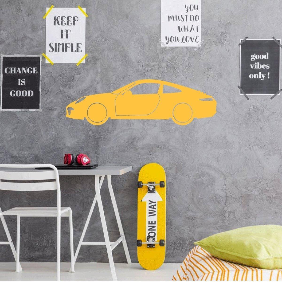 Amazon.com: Porsche Wall Decor - Garage wall Decal - Motor Sports ...