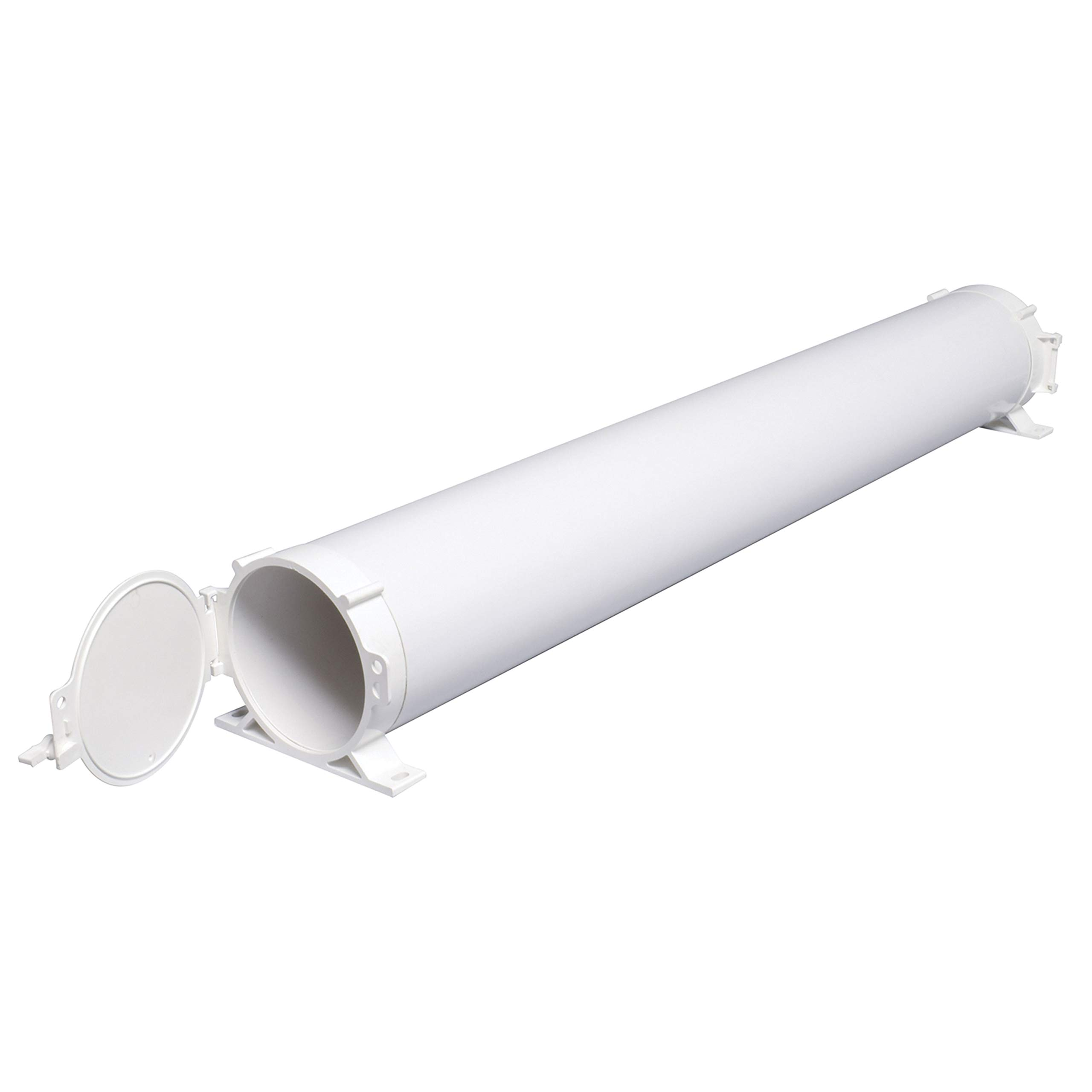 Valterra 50'' - 94'' A04-5094 Adjustable EZ Hose Carrier-50, White by Valterra