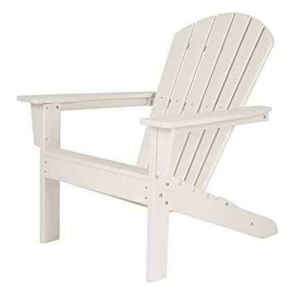 Swell Shine Company 7616Wt Seaside Adirondack Chair White Beatyapartments Chair Design Images Beatyapartmentscom