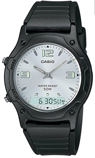 CASIO Collection AW-49HE-7AVEF - Reloj unisex de cuarzo, correa de resina
