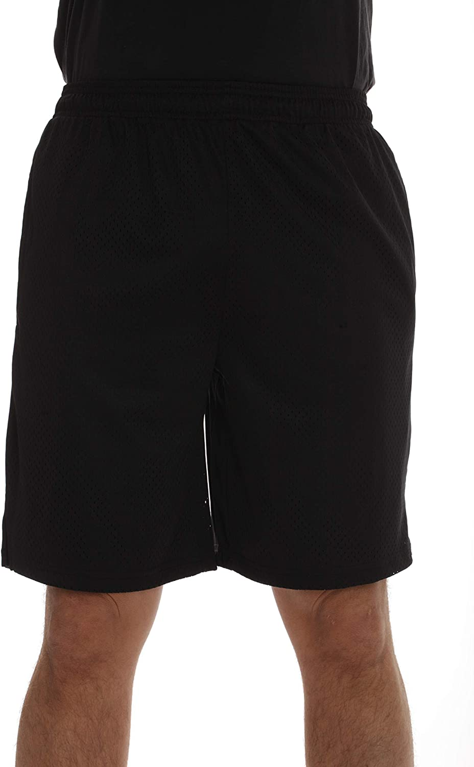 At The Buzzer Boys Athletic Mesh Basketball Sports Shorts with Pockets