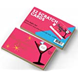 Outrageously Hilarious Bachelorette Party Scratch Off Dare Cards - 32 Mischievous Dare Cards - Best Value Kit By Fun Party Station