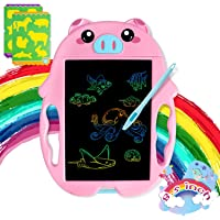 Toys for 3 4 5 6 Year Old Girls and Boys LCD Writing Tablet 8.5 inches Colorful Doodle Board Drawing Board, Birthday…