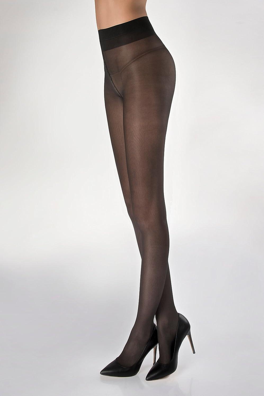 calza velata morbida vellutata e contenitiva resistente WOOTI Collant BUFALINA 40 den doppioricoperto