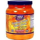 NOW Arginine Power Super Stack, 2.2-Pounds