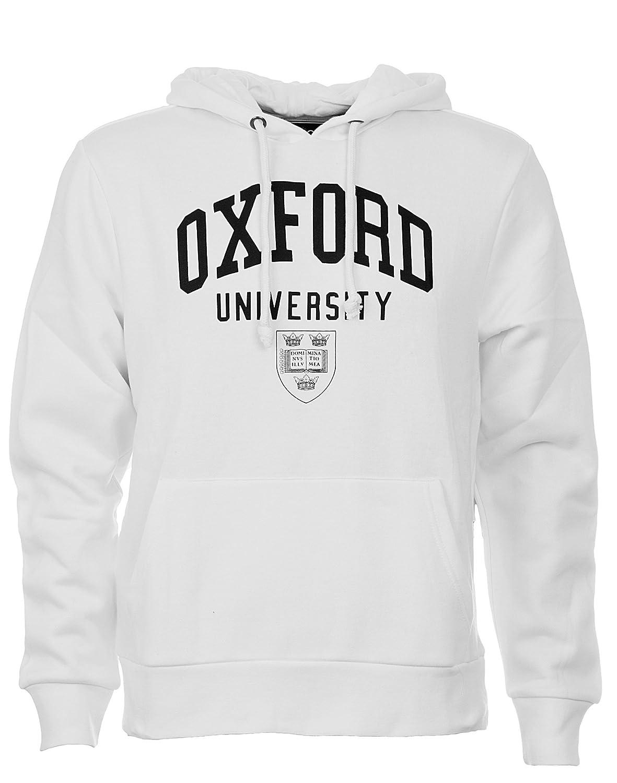 Felpa con cappuccio da uomo, licenza ufficiale Oxford