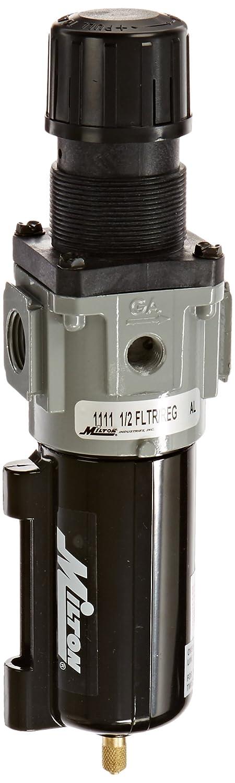 Milton 1110 3//8 Filter and Regulator Piggyback